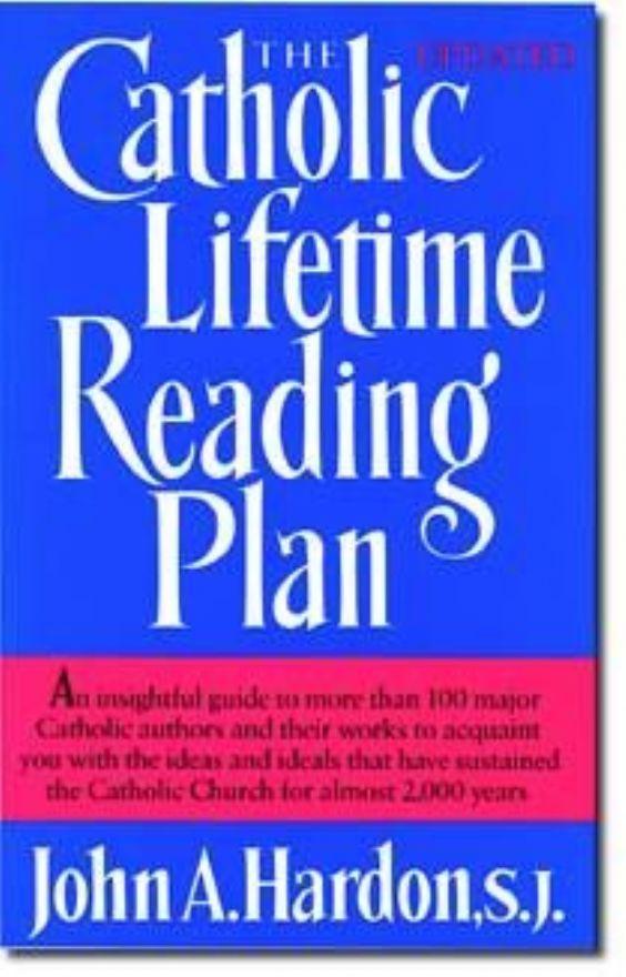 Catholic lifetime reading plan